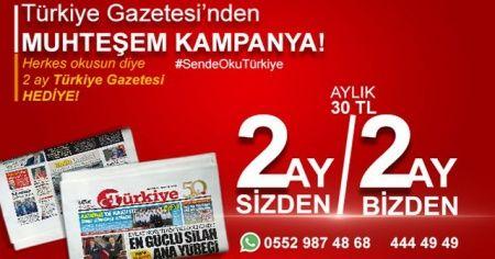 Gazetemizden büyük kampanya