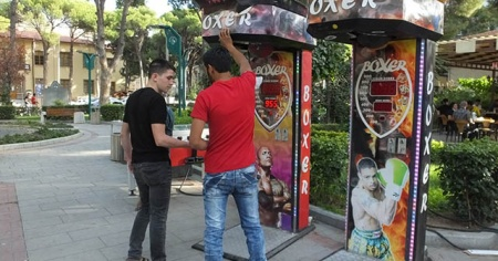 Gençler boks için sıraya girdi