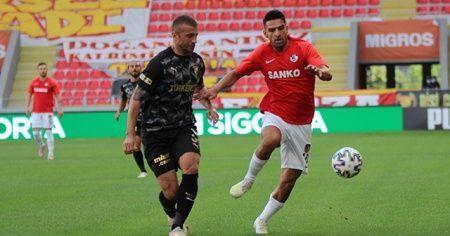 Göztepe sahasında Gaziantep FK ile berabere kaldı