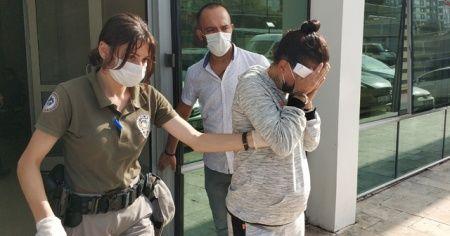 Hamile kadın 'gasp'tan tutuklandı