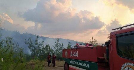 Hatay'da çıkan orman yangınları söndürüldü