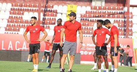 Hatayspor'da Kasımpaşa maçının hazırlıkları sürüyor