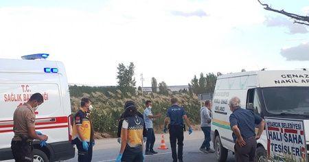 Hisarcık'ta motosiklet, kamyonla çarpıştı: 1 ölü