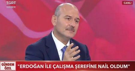İçişleri Bakanı Soylu: Cumhurbaşkanı Erdoğan'dan sonra siyasette yokum