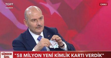 İçişleri Bakanı Soylu: Ehliyet ve kimlik ikisi bir arada oluyor