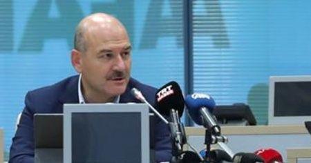 """İçişleri Bakanı Soylu: """"İstanbul'da tüm toplanma alanlarında tatbikat yapacağız"""""""