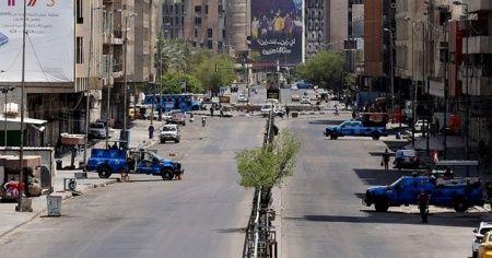 Irak'ta sokağa çıkma yasağı kaldırıldı