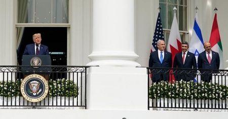 İsrail ile normalleşme anlaşmaları Beyaz Saray'da imzalandı