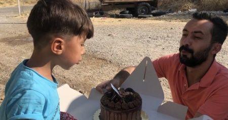 Köylerde yaşayan çocuklara doğum günü sürprizi