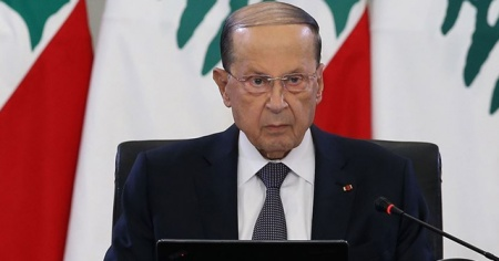 Lübnan Cumhurbaşkanı Mişel Avn: Lübnan 'yol ayrımında'
