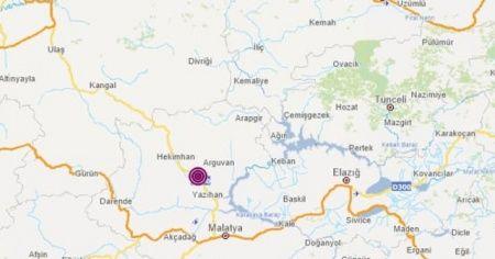 Malatya Hekimhan'da 3.6 büyüklüğünde deprem!