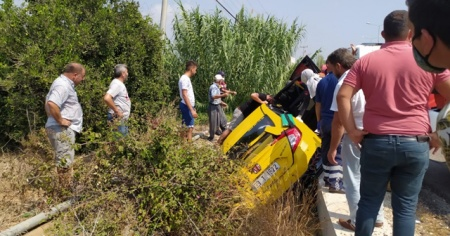 Mersin'de trafik kazası: 4 yaralı