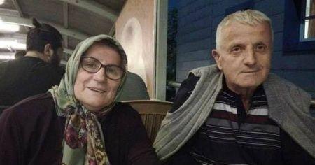 Motosiklet kazasında yaşlı çifti ölüm ayırdı