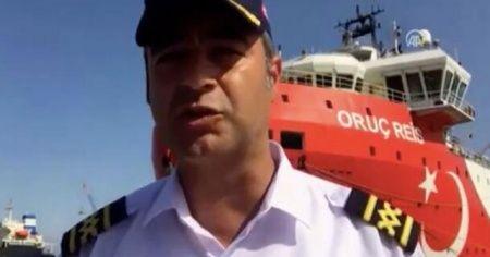 MTA Oruç Reis gemisinin kaptanı Cankat Uzşen'den çarpıcı açıklamalar