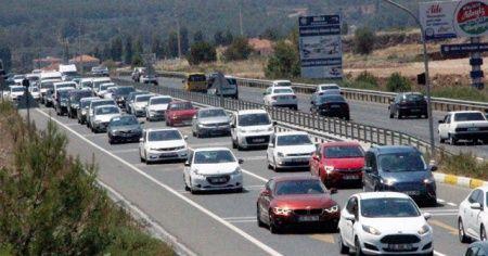 Muğla'da araç sayısı 520 bine ulaştı