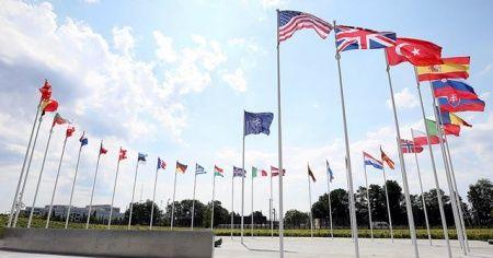 NATO Karargahı'ndaki toplantı