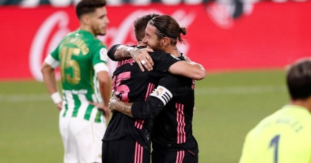 Real Madrid, deplasmanda Real Betis'i 3-2 yendi