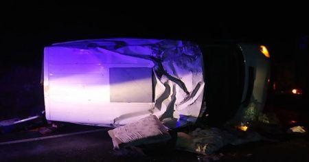 Şanlıurfa'da trafik kazası 7 yaralı