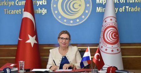 Ticaret Bakanı Pekcan: 'Hollanda, Türkiye'ye doğrudan yatırımda birinci sırada'