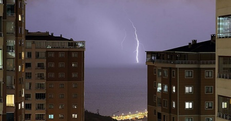 Trabzon'da sağanak etkili oldu!