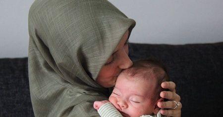 Tüm organları ters olan kadına, 'Ölürsün' dediler, bebeğini kucağına aldı