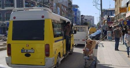 Van'da koronavirüs tedbirlerine uymayan 74 toplu taşıma aracına 30 bin lira ceza