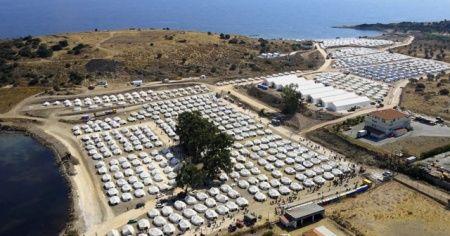 Yunanistan'daki mülteci kampında 243 kişide Kovid-19 tespit edildi