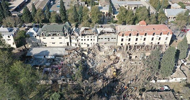 """""""Ermenistan'ın Gence'de sivillere saldırısı savaş suçu"""""""