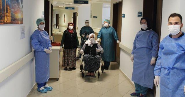 110 yaşında korona virüsü yendi