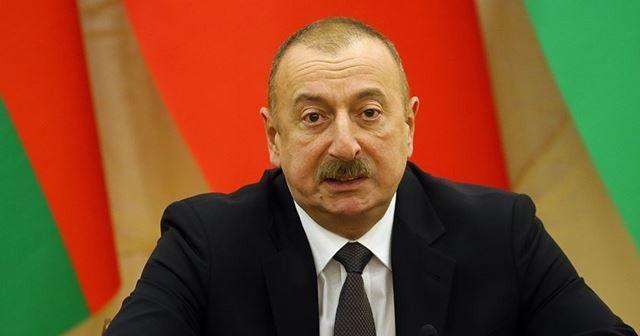 """Aliyev'den, Cumhurbaşkanı Erdoğan'a """"geçmiş olsun"""" telefonu"""