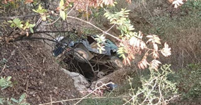 Aydın'da araç şarampole uçtu: 1 ölü