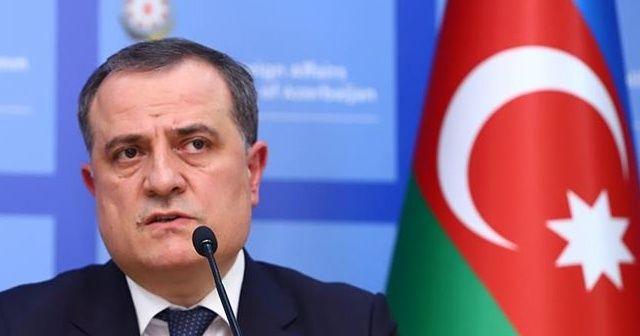 """Azerbaycan Dışişleri Bakanı Bayramov: """"Operasyonlar yeniden başlar"""""""