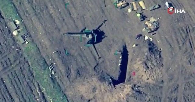 Azerbaycan, Ermenistan ordusuna ait hedefleri imha etti