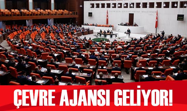 Bakan Kurum: Türkiye Çevre Ajansı'nın kurulması için TBMM'ye sunulan yasa teklifi Çevre Komisyonu'nda kabul edildi