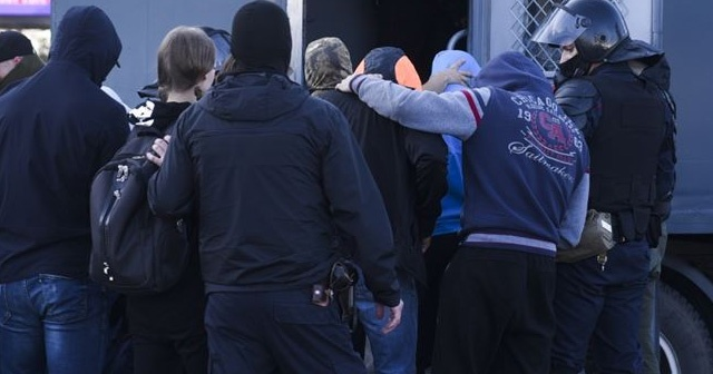 Belarus'taki protestolarda 523 kişi gözaltına alındı