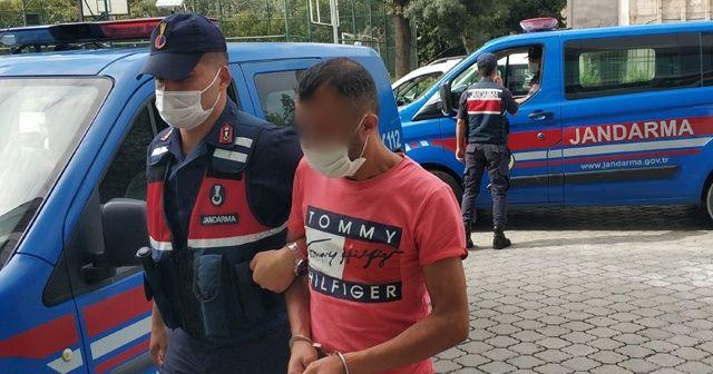 Bir gecede 6 evden hırsızlık yaptığı iddia edilen şahıs yakalandı