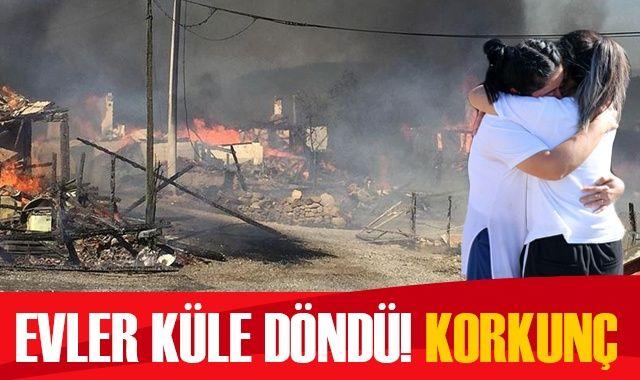 Bolu'da korkutan yangın!