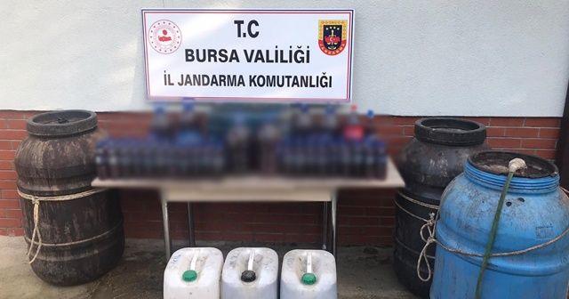 Bursa'da sahte içki operasyonu