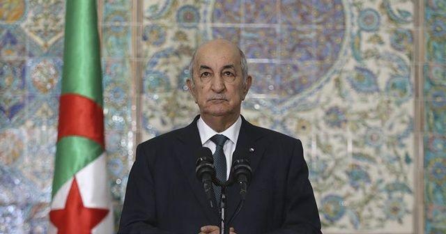Cezayir Cumhurbaşkanı, Kovid-19 nedeniyle tedaviye alındı