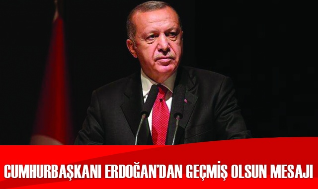Cumhurbaşkanı Erdoğan'dan deprem açıklaması