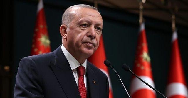 Cumhurbaşkanı Erdoğan'dan geçmiş olsun mesajı