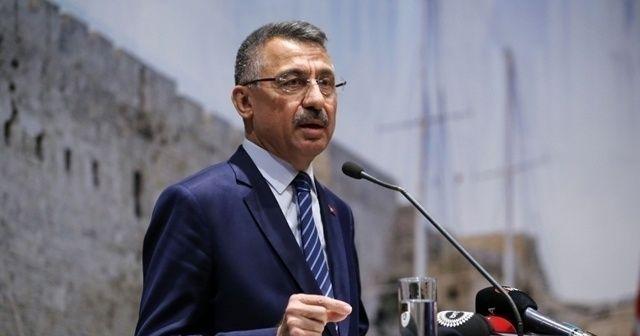 Cumhurbaşkanı Yardımcısı Oktay'dan CHP'ye cevap