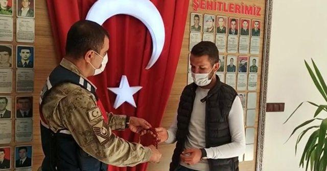 Dede yadigarı 27 bin TL'lik tespih bulundu