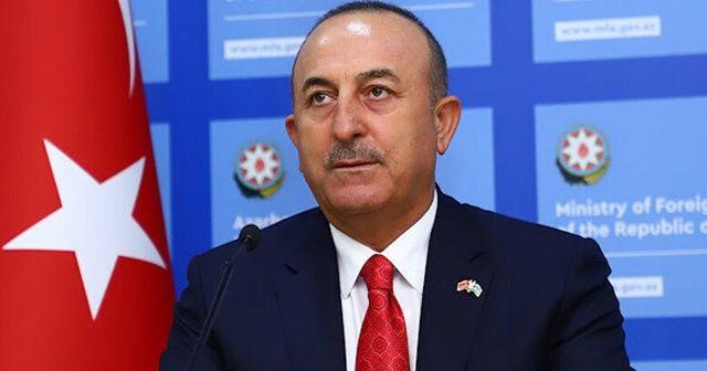 Dışişleri Bakanı Çavuşoğlu, Azerbaycan Dışişleri Bakanı Ceyhun Bayramov ile görüştü