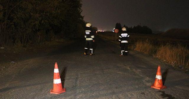 Diyarbakır'da doğalgaz ana borusunda kaçak paniğe yol açtı