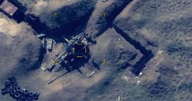 Ermenistan'ın askeri teçhizatları böyle imha edildi!