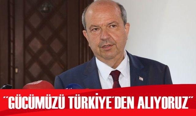 Ersin Tatar: Gücümüzü Türkiye'den alıyoruz