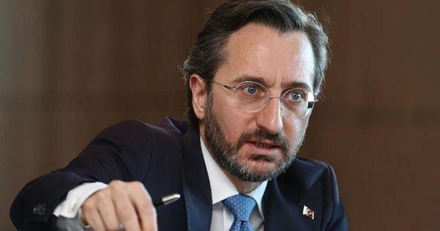 Fahrettin Altun: Ahlaksızca Cumhurbaşkanımıza saldırıyorlar
