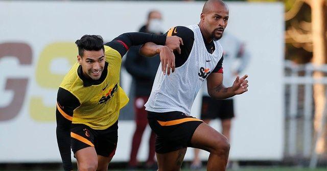 Galatasaray, Erzurumspor maçı hazırlıklarını sürdürdü