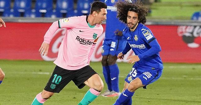 Getafe sahasında Barcelona'yı mağlup etti